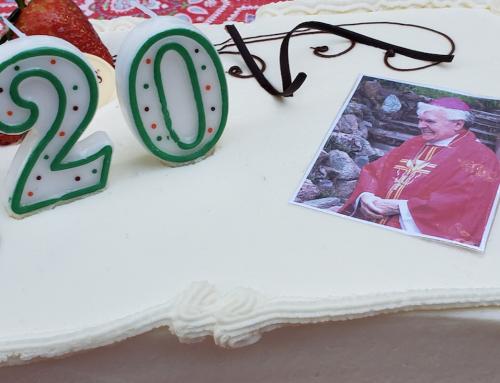 20 let od biskupského svěcení