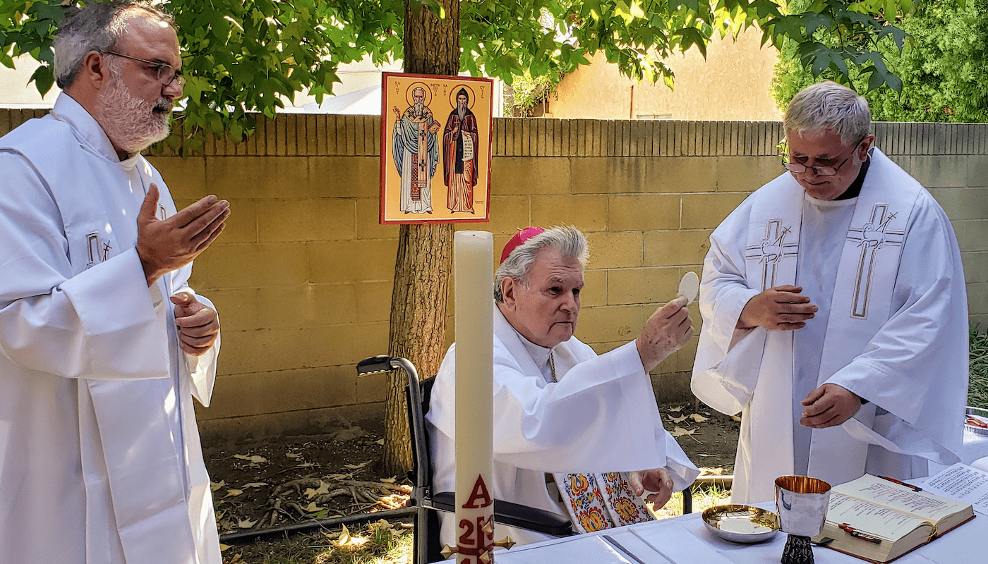 Photos from the Celebration of 20th Anniversary of Bishop Esterka's Ordination