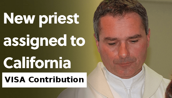 Contribute to Fr. Libor's VISA